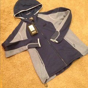 New women jack wolfskin l lg fjord hooded jacket